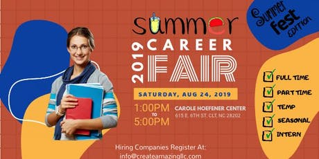 SummerFEST Career Fair tickets