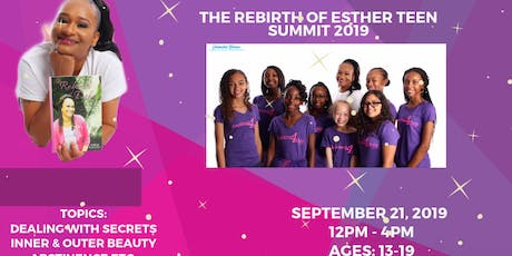 The Rebirth of Esther Teen Summit 2019 tickets