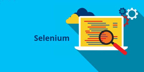Selenium Automation testing, Software Testing and Test Automation Training in Hialeah, FL for Beginners | Automation Testing training | Selenium IDE and Web Driver training | Web Automation testing, mobile automation testing training tickets