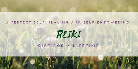 Usui Reiki Level 1 Class for Beginners tickets