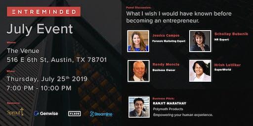 Entreminded July Event