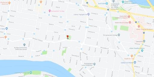 QuestGaine Week 37 - Highgate Hill Park Highgate Hill (Maprun)