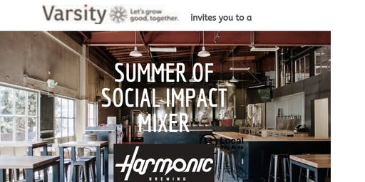 Summer of Social Impact Mixer