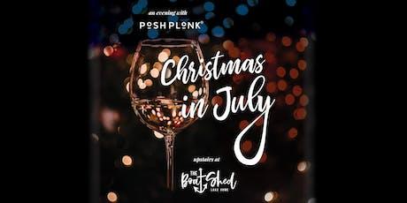 Christmas in July feat. Posh Plonk tickets