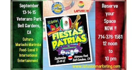 El Grito Fiestas Patrias de Independencias Bell Gardens, CA tickets