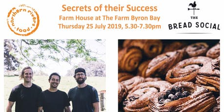 Secrets of their Success - The Bread Social tickets