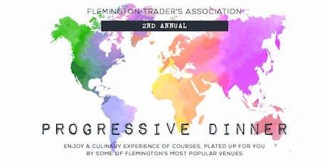 Flemington Trader's Third Annual Progressive Dinner tickets