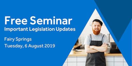 Free Seminar: Legislation updates for small businesses - Nelson