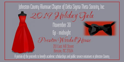 Johnston County Alumnae Chapter Presents Holiday Gala 2019