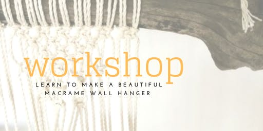 WALL HANGING WORKSHOP