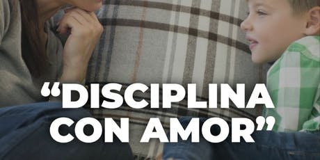 Charla gratuita Disciplina con amor boletos