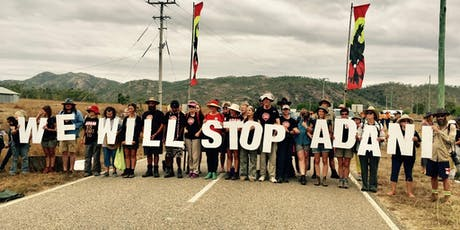 Blockade Adani - Training tickets