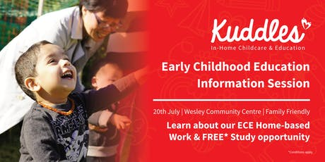 Work as a Homebased Educator & study ECE-Lvl 4 for FREE* info session tickets