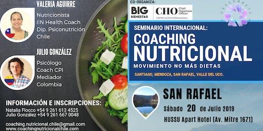 San Rafael, Seminario Taller Coaching Nutricional