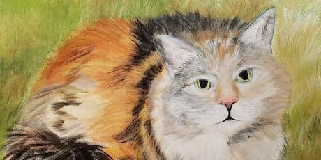 Paint Class - Paint Your Pet at Lavender Hill Farm tickets