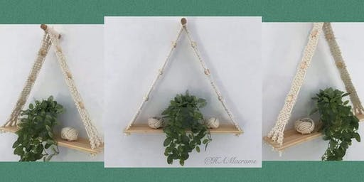 Macrame Shelf workshop
