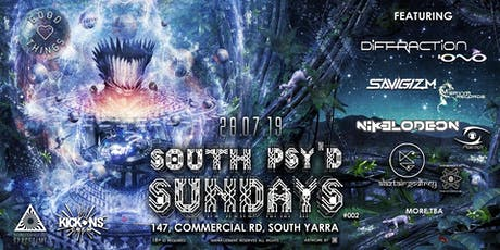 SOUTH PSY'D SUNDAYS #002 tickets