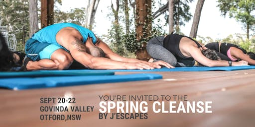 The J'Escapes Spring Cleanse - Weekend Detox Getaway