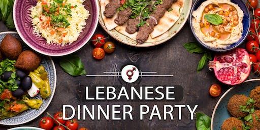 Lebanese Dinner Party | F 40-50, M 42-54 | September