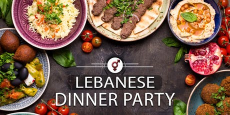 Lebanese Dinner Party | F 30-42, M 32-46 | September tickets