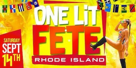 One Lit Fete Rhode Island  tickets