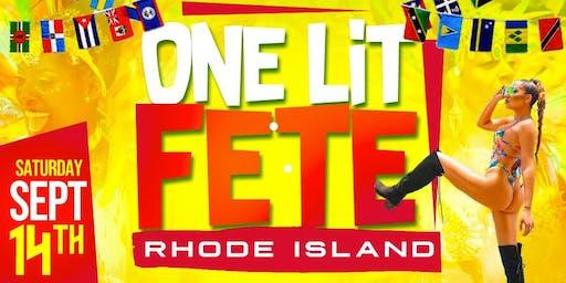One Lit Fete Rhode Island