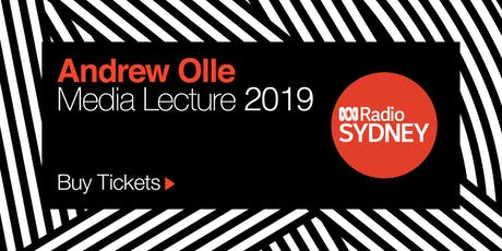 Andrew Olle Media Lecture 2019 tickets