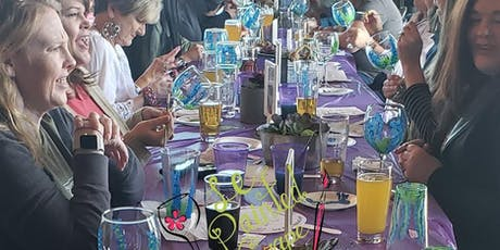 Wine Glass Painting at Legal Draft Beer Company 09/15/19 @ 2 pm tickets