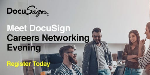 Meet DocuSign Singapore - Careers Networking Evening