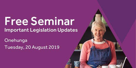 Free Seminar: Legislation updates for small businesses - Onehunga tickets