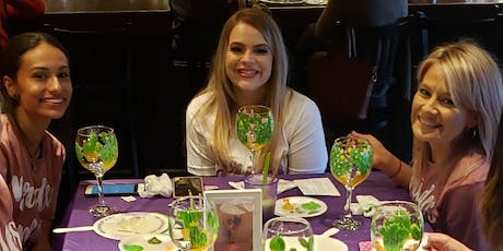 Wine Glass Painting @ Silver Dollar Winery 09/12/19 @ 7pm tickets