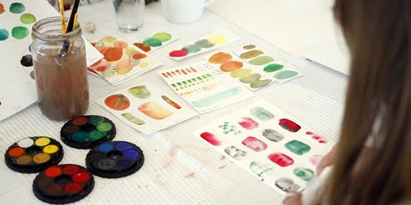 Abstract Watercolour Workshop tickets