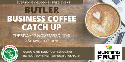 Business Coffee Catch Up Butler
