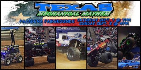 Texas Mechanical Mayhem Monster Truck Show tickets