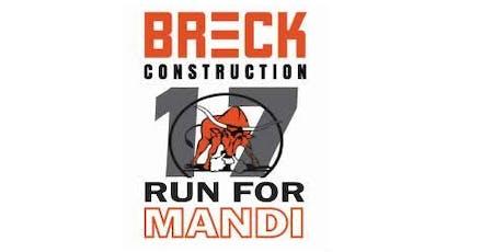 Run For Mandi Saskatoon tickets