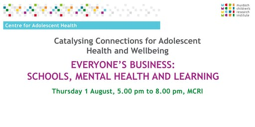 Catalysing Connections for Adolescent Health and Wellbeing