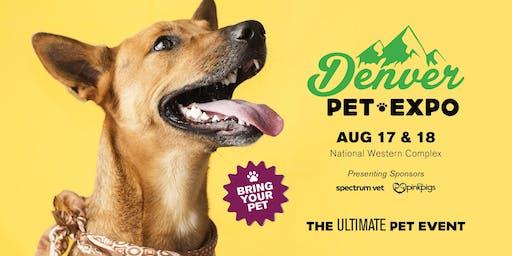 Denver Pet Expo presented by Pet Event Professioals