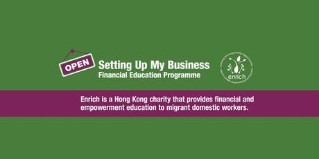 Setting Up My Business 1-2 (2 sessions) - Run in Tagalog/English (YWCA) tickets
