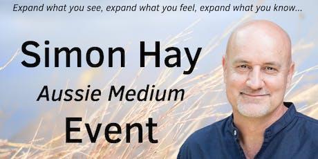 Aussie Medium, Simon Hay, at Auchendarroch House in Mount Barker, SA tickets