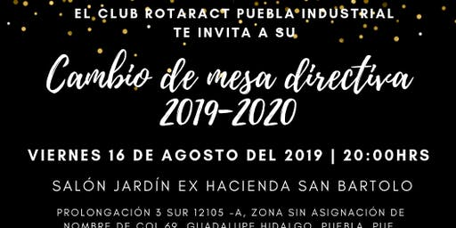 Cambio de Mesa Directiva 2019-2020