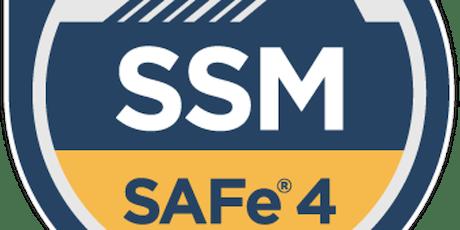 SAFe® Scrum Master Certification, Boston, MA tickets