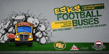 Pint Whyte Ave Eskimo Bus: Edmonton Eskimos vs Toronto Argonauts tickets