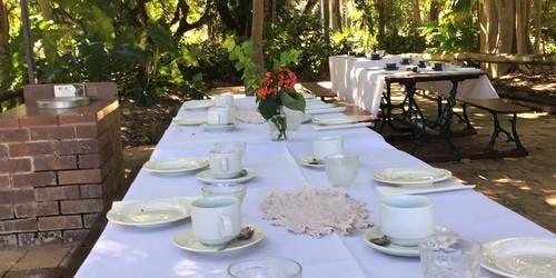 Garden Party High Tea