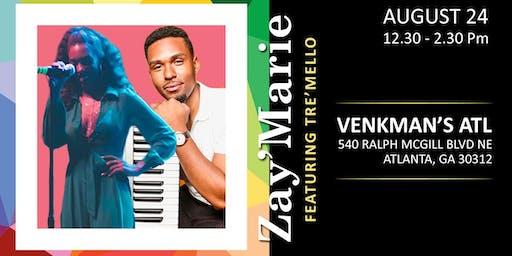 Zay'Marie & Tre'Mello - Brunch and Ballads   Live at Venkman's ATL