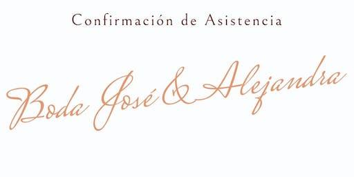Boda Jose & Alejandra