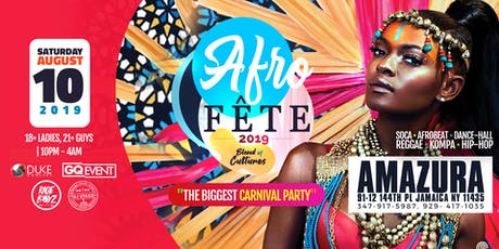 """AFRO FETE"" - The Blend of Culture (Carnival in the Club) tickets"