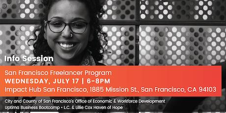 Information Session - San Francisco Freelancer Program tickets