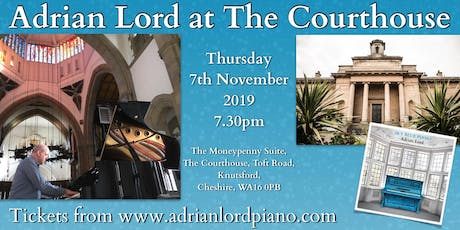 Adrian Lord at The Courthouse tickets