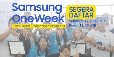 Samsung One Week