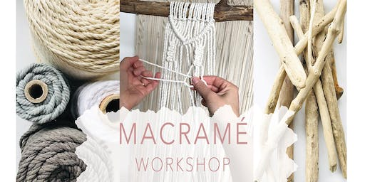 Macrame Wall Hanging Workshop - For Beginners